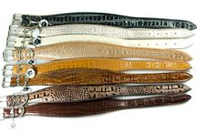Whippet collars / Soft padded leather collars fro whippets and other small sighthounds from Dog Moda