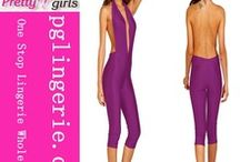 Women Polyester Pants Bodycon Jumpsuits lindadays full colour top