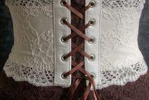 crochet corset