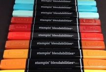 Blendabilies / Ideas on how to use the Stampin Up Blendabilities pens and general colouring tips / by Michelle Last Stampin' Up! Demo
