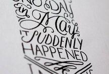 //Lettering// / by Maddi Grady