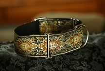 Tygan's Collars / Collars inspired and made for my dog called Tygan, the Russian Borzoi.