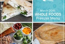Whole Foods March 2015 Menu / Spring is near and with it come familiar sights of rhubarb stalks, artichoke heads and decadent lamb. Our Whole Foods March 2015 Menu takes inspiration from these lively seasonal flavors to bring a burst of freshness to your table. / by Once A Month Meals