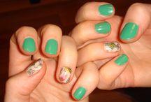 paznokcie / moje malunki na paznokietkach, nail lacquers,