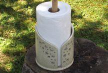 K 035 Keramik Papierhalter