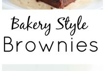 Brownies/Slice