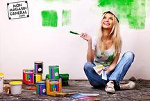 [#DROGUERIE & #PEINTURE] / Quelle peinture choisir ? Quelle est la tendance ? En nous suivant, vous aurez des idées et le matériel qu'il vous faut ! --> ow.ly/NV6W306P7IU