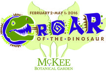 ROAR of the Dinosaur Exhibit - Coming Feb. 2 - May 1, 2016 / Experience the prehistoric world with this realistic collection of 30 life-sized dinosaurs by artist and paleontologist Guy Darrough.