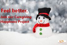 Caregiving Happiness Project / We're taking small steps toward greater happiness. / by Denise M. Brown