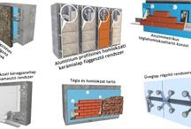 Építőanyagok - Homlokzatok