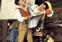 Luigi Bechi (1830 – 1919, Italian)