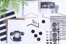 Stationery / Fun new products by Heidi Swapp. Make your cards something special.