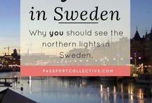 Sweden I Kiruna I Arctic Circle I Northern Lights I Stockholm