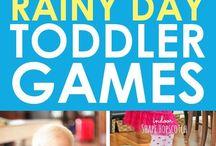 Indoor Activities for Kids / Fun indoor activities for kids to do when the weather is bad or you just need a break!