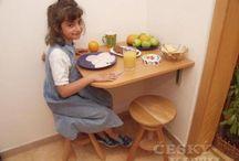 bývanie - stoly, stolíky, stoličky