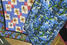 Custom Quilts / We do lots of T-shirt quilts, but we get lots of requests for more traditional type quilts.
