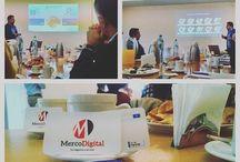 Agencia Merco / Cada día es un buen día para empezar un proyecto. Acá vas viendo el avance de algunos proyectos, cómo trabajamos en ellos y nuestra dinámica empresarial de todos los días.