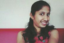 Harshitha / Just uploading first video in youtube