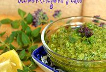 Recipes-Pesto, Sauces & Condiments