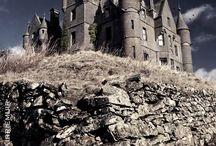 Vielles maisons abandonnées