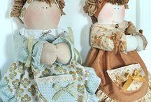 Bambole portassacchetti