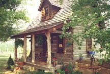 Log Cabin @ Pond