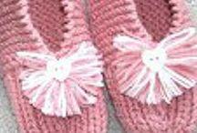 knitting slippers patterns