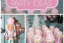 Party Ideas / Cakes, invi, diy etc