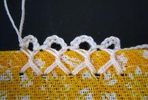 Barrado Carreira Unica/Crocheted Edging