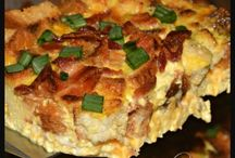 Breakfast casseroles and other savory