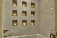Bathroom ideas / by Anne Hall