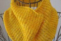 knit :: yellow / Yellow knits