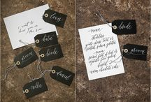 {STAY DRY AND JOLLY} Umbrella Signage Collaboration with Modern Calligrapher Laura E Patrick