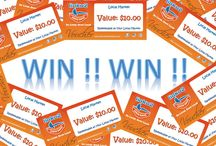 Linku2 Giveaways! / We have lots of giveaways through Linku2 and you can find out about them here!