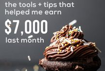 Blogging / Tips, income reports...the tools I need to make it happen.