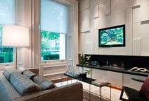 Interiors + tv wall