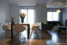 dining room design by Kreacja Przestrzeni/ jadalnia projekt Kreacja Przestrzeni / dining room design by Kreacja Przestrzeni/ jadalnia projekt Kreacja Przestrzeni/ Poznań Poland