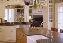 kitchen/dining room / by Debra Steinbrook-Keener