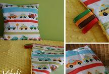 Vshebi Minky Blankets / Minky blankets made by me and my mom.