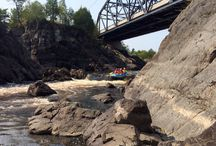 Rafting down the St Louis River / Some of our trips!