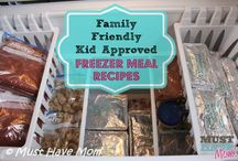 Freezer Meals / Freezer meals are my all time favorite!