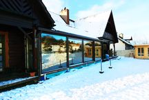 Ogród zimowy Świetlik / Świetlik #ogródzimowy - Ogród zimowy w istnie zimowym klimacie