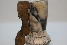 My ceramics / Handmade ceramics, Raku and Smoke Firing