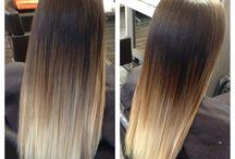 Onbre hair