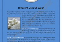 Different Uses Of Sugar