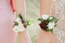 *Bridesmaid Wrist Corsages*
