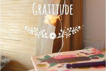 Gratitude / Méditation / Bien être