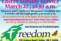Easter / by Freedom Baptist Church