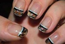Nails / These nail ideas would be perfect to match your camo themed dress