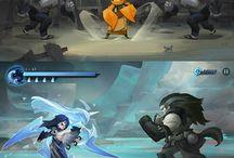 RPG mana nature type fighting